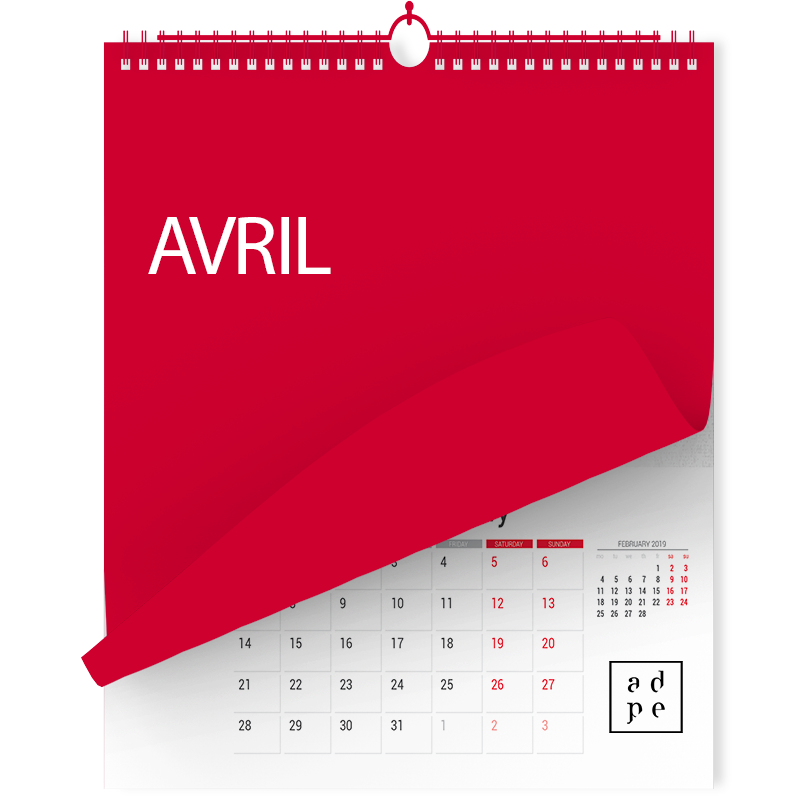 Bulletin du mois d'Avril